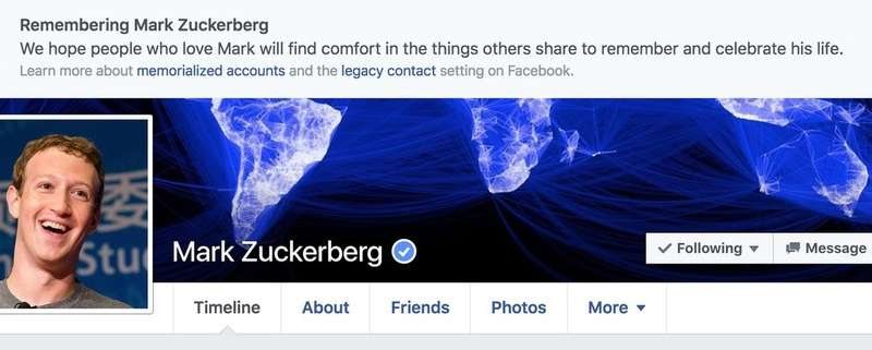 Facebook's accidental 'death' of users reminds us to plan for digital death