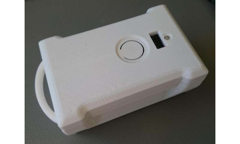 Fall detector for older people