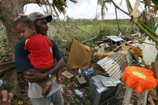 Fiji was hit by Tropical Cyclone Winston in February which killed 44 people, destroyed 40,000 homes and caused more than $1 bill