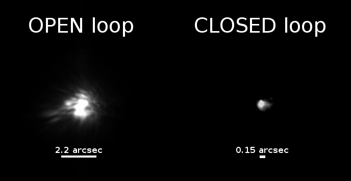 First Images from Adaptive Optics Lucky Imager (AOLI)