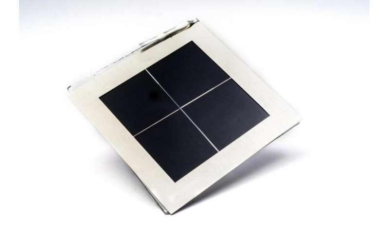 First semi-transparent perovskite modules