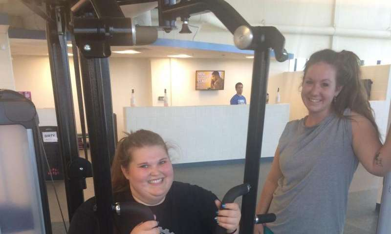 Fitness is important part of recovery in adolescent substance abuse program