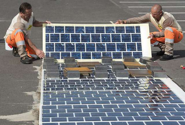 France has solar-strip paving ambitions for long stretch of roads