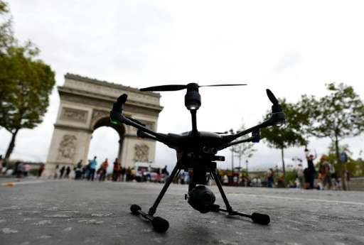 France is the world leader in the market for civilian drones, selling 300,000 of the devices last year—three times as many as in