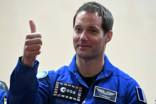 French space rookie Thomas Pesquet will lift off for a six-month mission to the ISS with a selection of dishes by top French che