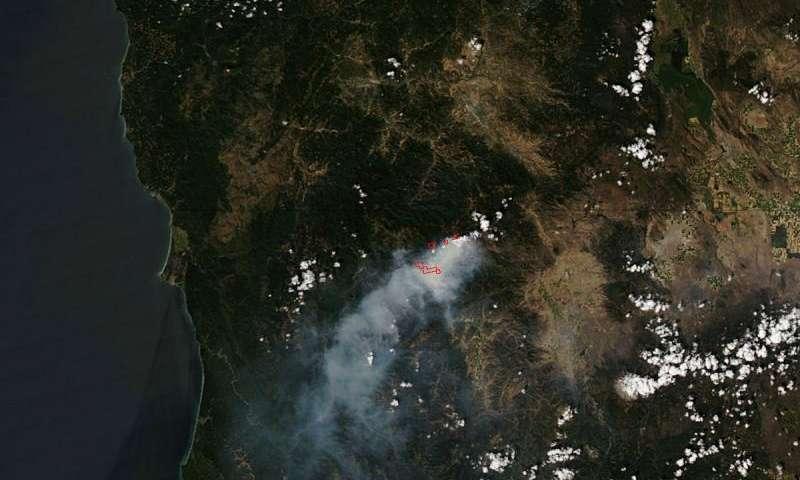 Gap Fire in California continues to burn