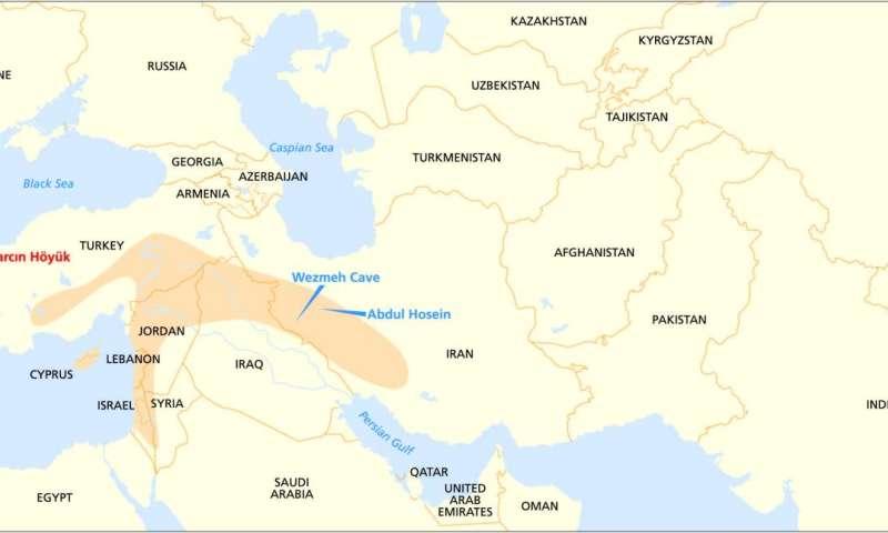 A federal origin of Stone Age farming on sargon of akkad, israel map, ethiopia map, the fertile cresent map, west bank map, mesopotamian map, arabian sea map, mediterranean sea map, egypt map, sumer map, arabian desert map, epic of gilgamesh, dead sea map, levant map, black sea map, persian gulf map, gaza strip map, cradle of civilization, arabian peninsula map, neolithic revolution, elburz mountains map, zagros mountains map, zagros mountains, sahara map, ancient mesopotamia map,