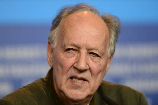 "German director Werner Herzog, pictured on February 6, 2015, presented the documentary ""Lo and Behold: Reveries of the Conn"