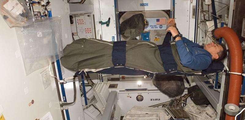 Getting to sleep in space is hard – and not exactly restful for the mind and body