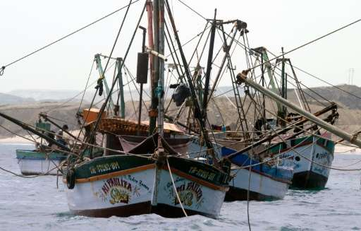 GlobalFishingWatch.org allows people to trace the paths of commercial fishing vessels and make sure boats haven't strayed into m