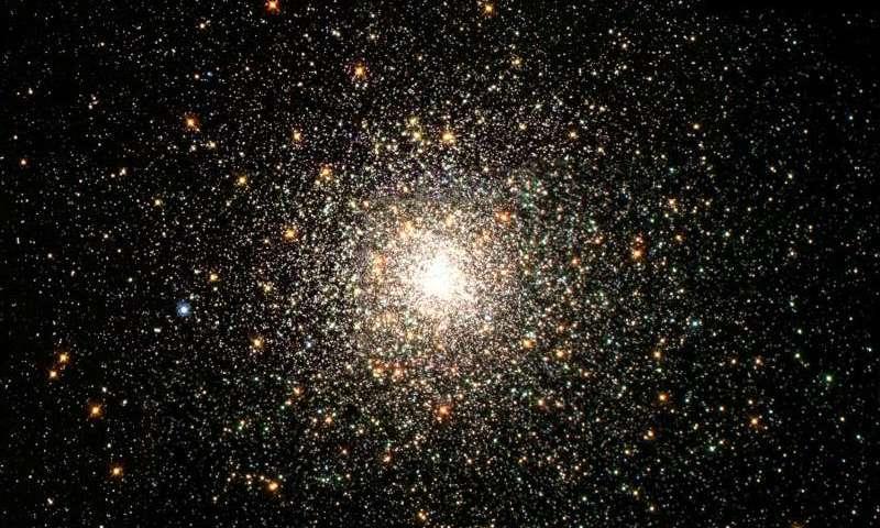 Globular star cluster