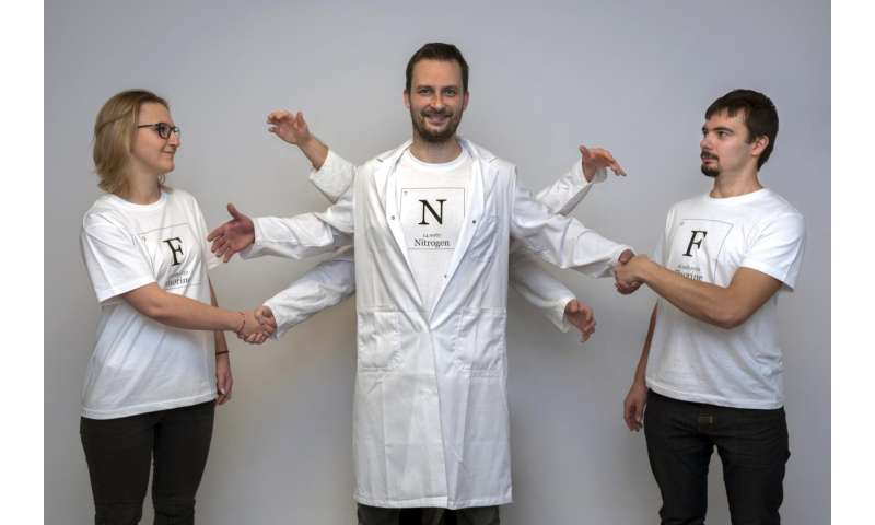 Going against the grain -- nitrogen turns out to be hypersociable!