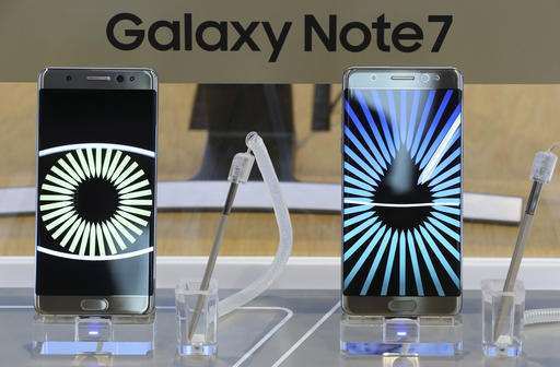 Gov't bans Samsung Galaxy Note 7 phones from airliners