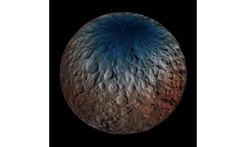 GRaND seeks subsurface water ice on Ceres