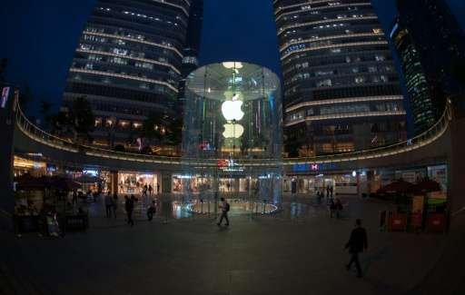 Greater China is a key market for Apple but its sales in the area fell 26 percent year-on-year in the first three months of 2016