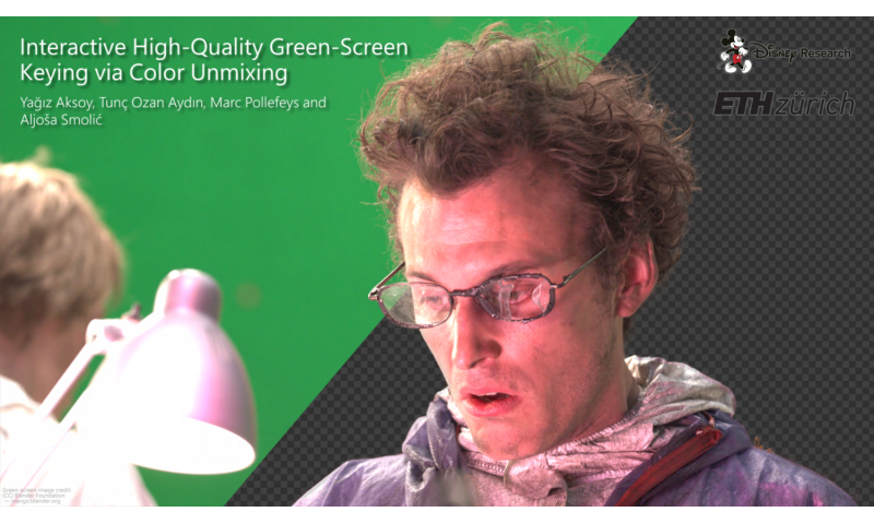 Green-screen keying method cuts time, boosts quality in film compositing