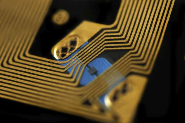 Hack-proof RFID chips could secure credit cards, key cards, and pallets of goods