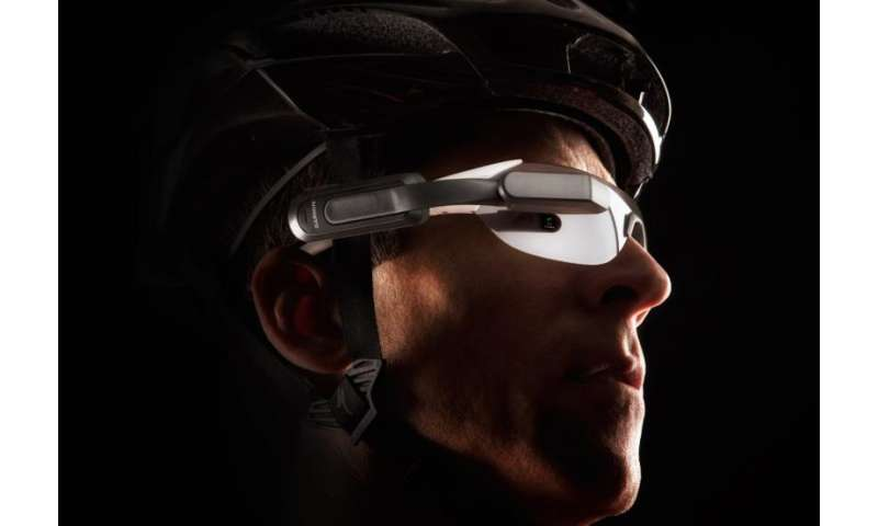 Heads up display for safe cycling makes CES appearance