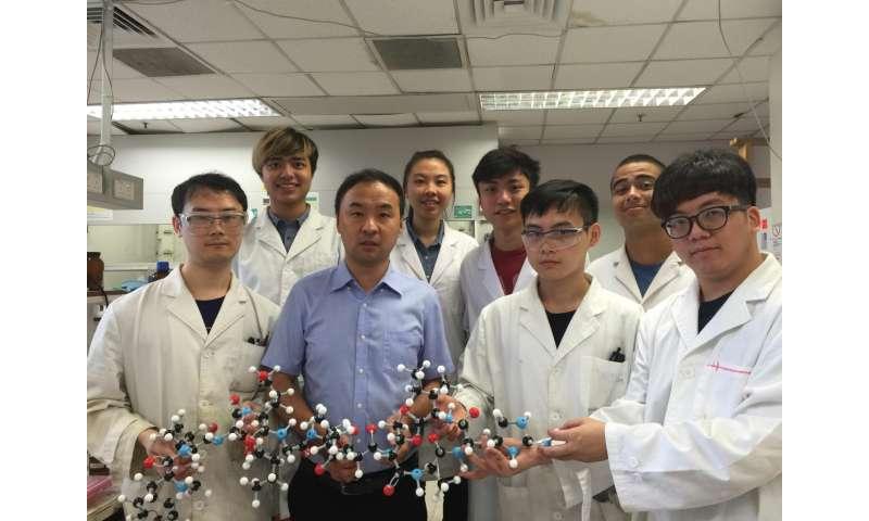 HKU chemists make rapid developments in antibacterial drug research