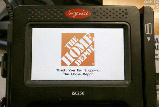 Home Depot: US credit card firms slow to upgrade security