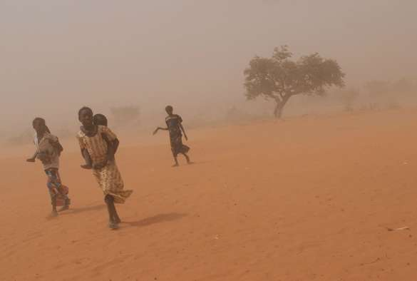 Hot desert storms increase risk of bacterial meningitis in Africa