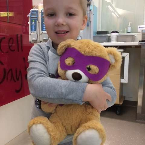 How a teddy bear is helping in the battle against cancer