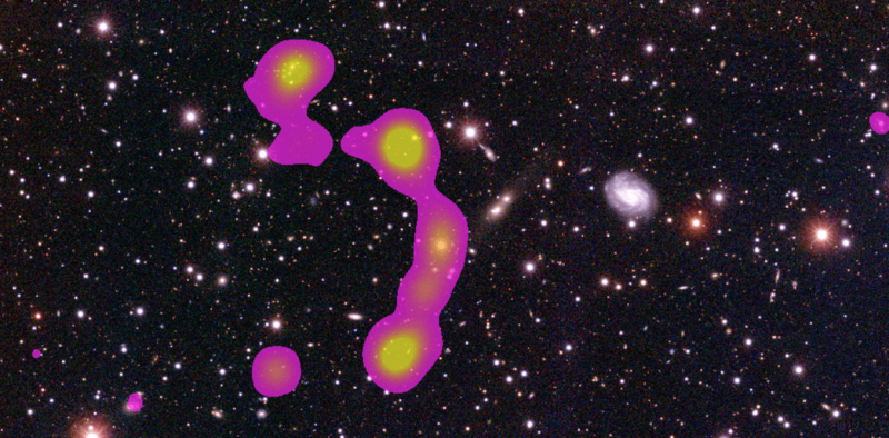How citizen scientists discovered a giant cluster ofgalaxies