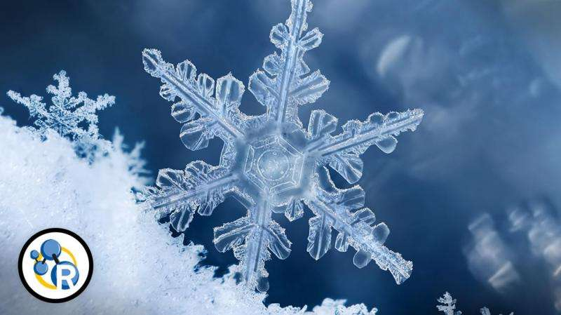 How do snowflakes form? (video)