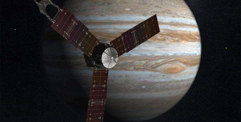 How much water is inside Jupiter? NASA's juno spacecraft is about to find out