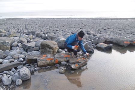 How the rocky western coastline of Britain is reshaped by extreme weather