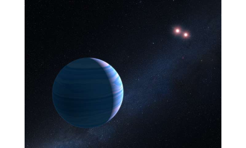 Hubble finds planet orbiting pair of stars
