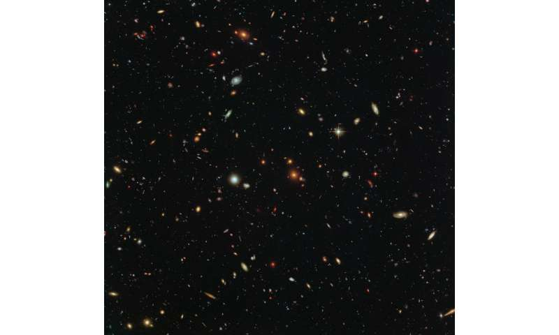 Hubble sees a legion of galaxies