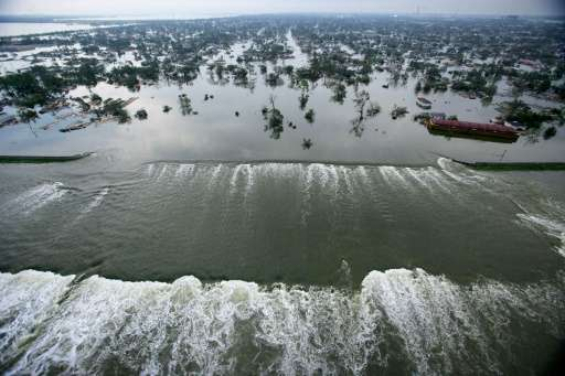 Hurricane Katrina devastated New Orleans and left at least 1,500 dead despite being classed Category Three