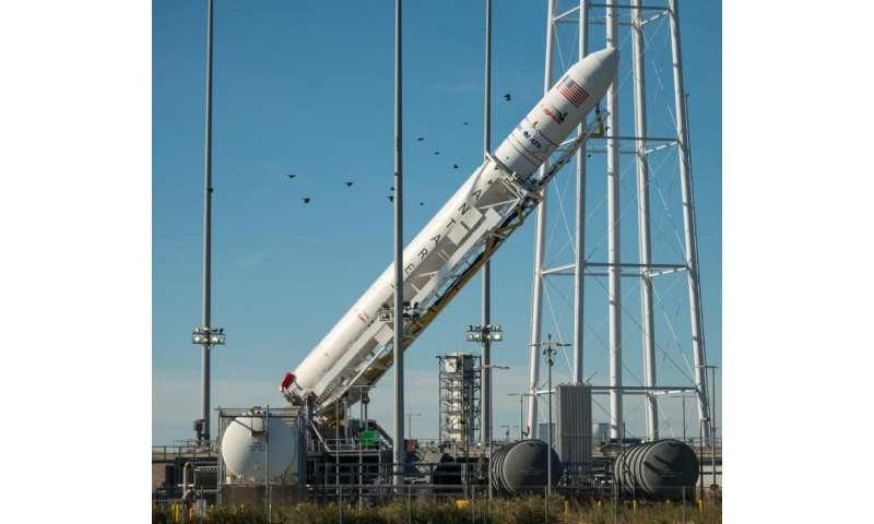 Image: Antares Rocket Raising