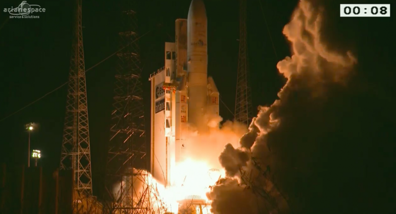 Image: Ariane 5's fourth launch this year
