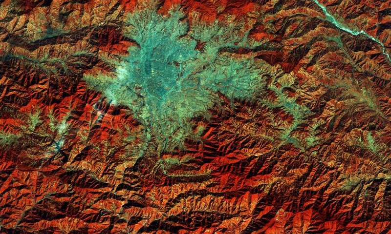 Image: Copernicus Sentinel-2A captures Kathmandu, Nepal
