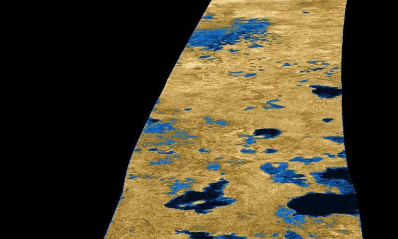 Image: Dark pools on Titan