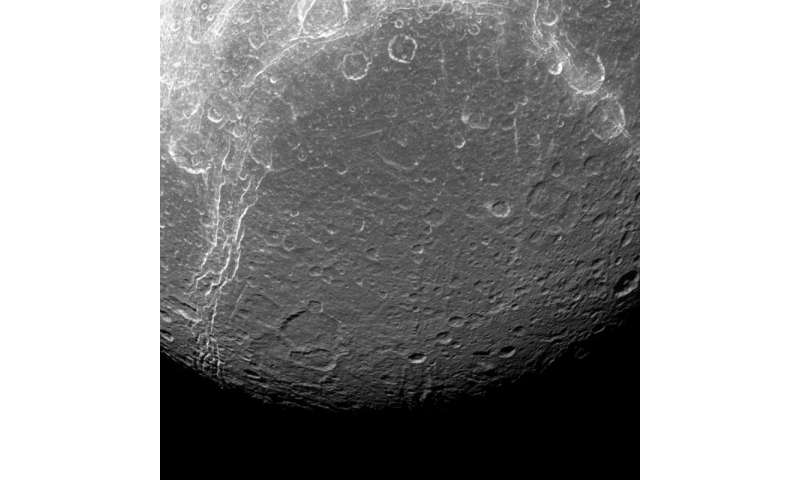 Image: Dione's contrasts