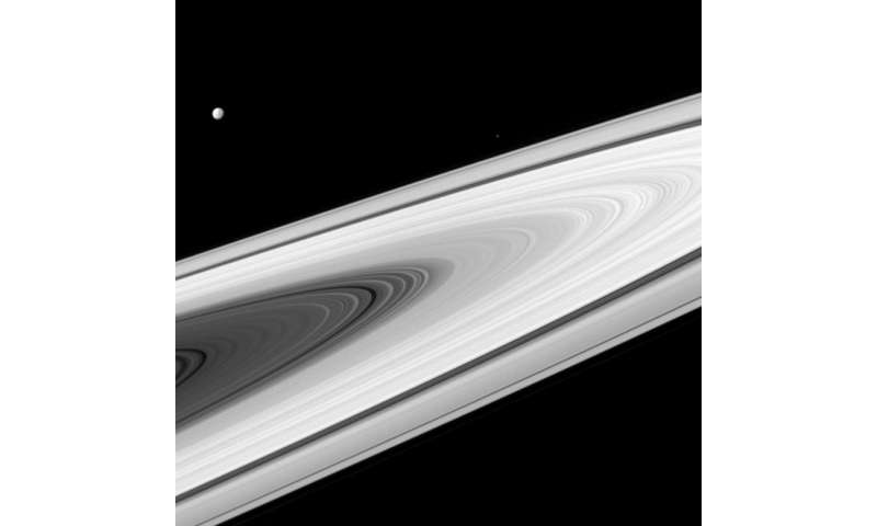 Image: Not really starless at Saturn