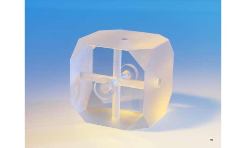 Image: Optical stabilising reference cavity