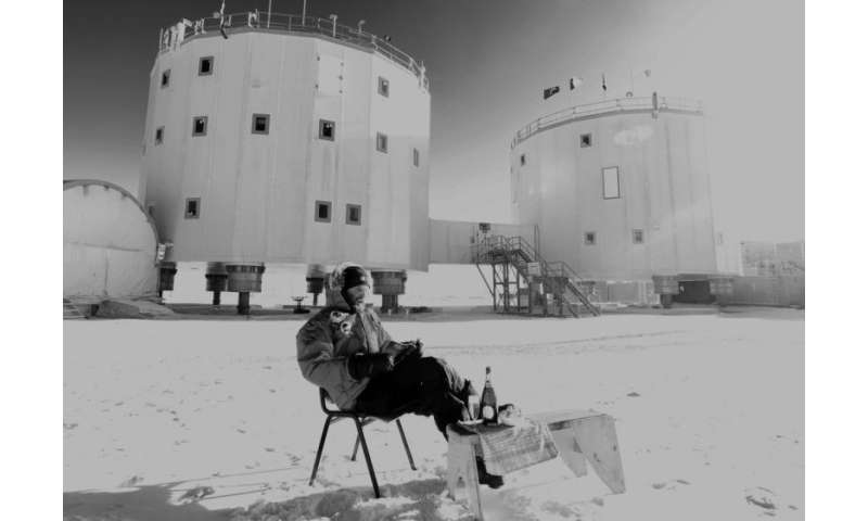 Image: Picnic at Concordia research station in Antarctica