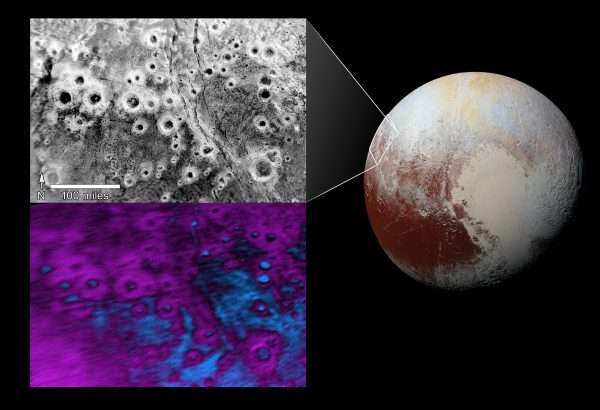 Image: Pluto's 'halo' craters