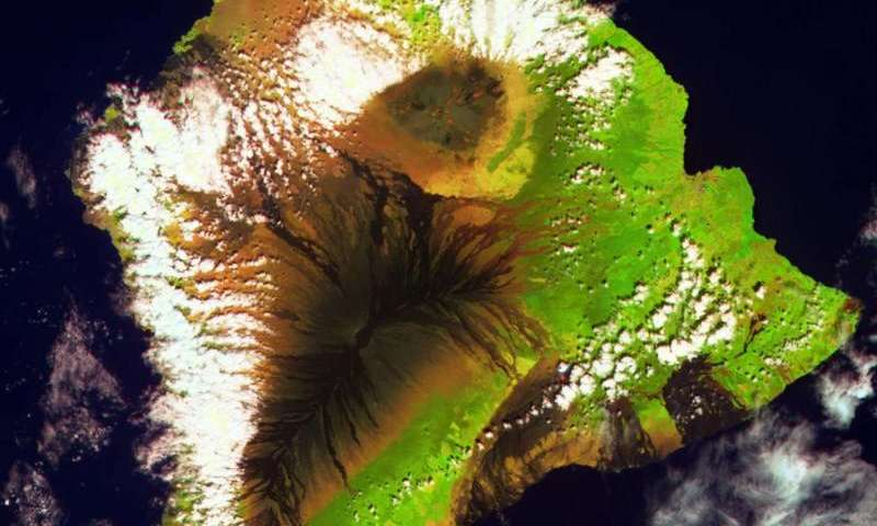 Image: Proba-V view of Hawaii
