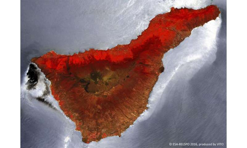 Image: Tenerife from Proba-V