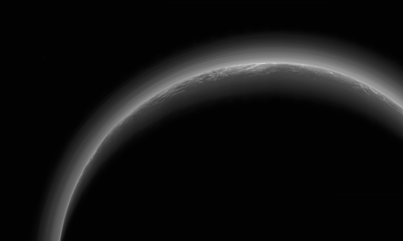 Image: The dark side of Pluto