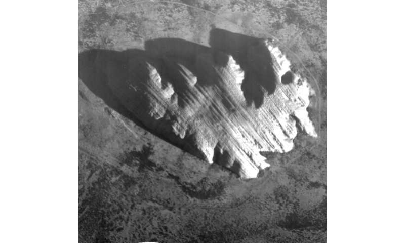 Image: Uluru imaged by Proba-1 HRC