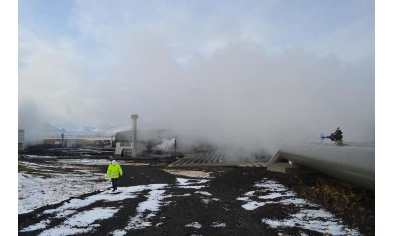 In a first, Iceland power plant turns carbon emissions to stone