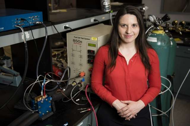 Increasing the efficiency of fuel cells could lead to more widespread use of zero-emissions vehicles