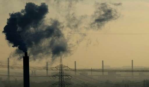 In Germany's climate deal the industrial sector will have to lower its CO2 emissions by around half to between 140 and 143 milli