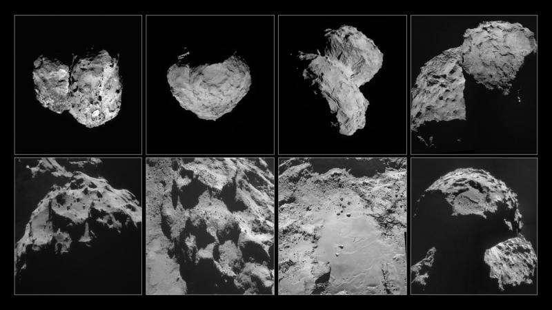 Inside Rosetta's comet